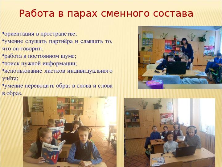 Формирование коммуникативных компетенций на уроках в начальной школе