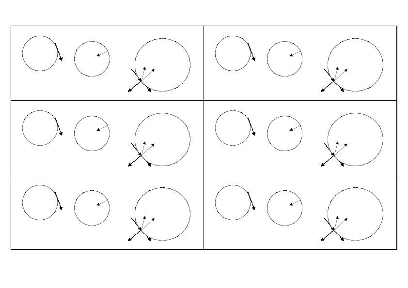"""Самостоятельная работа по физике 9 кл """"Векторы движения по окружности"""" на печатной основе"""