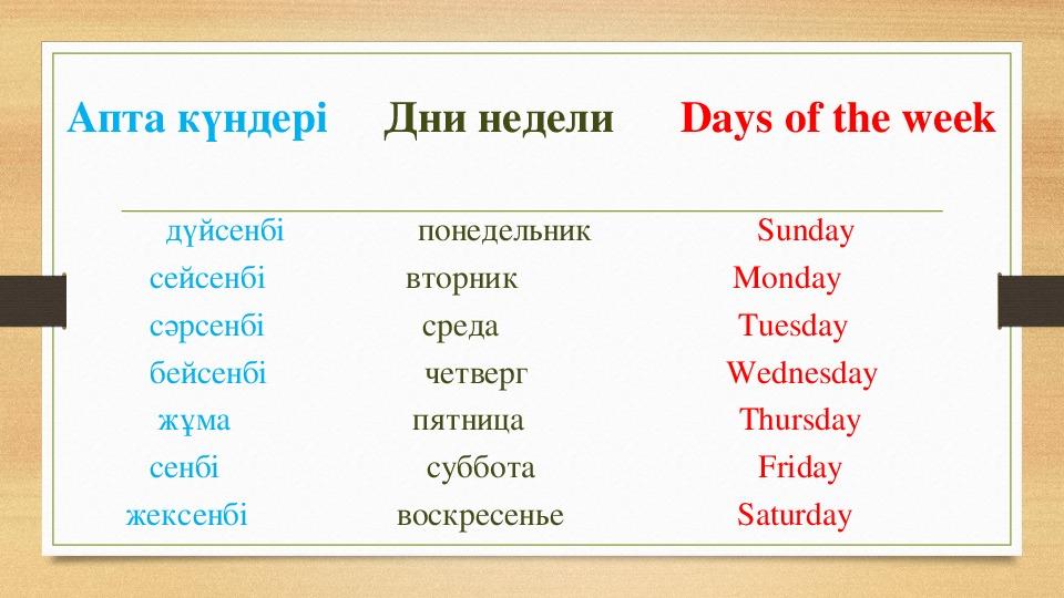 Путаешь Дни Недели