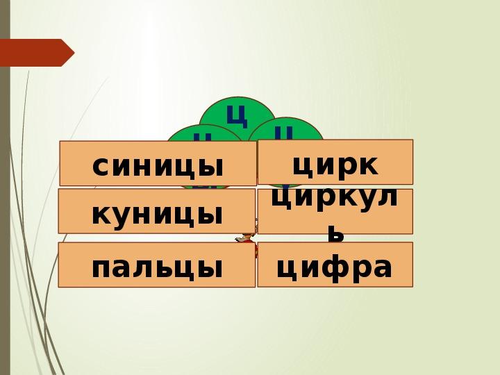 """Разработка урока+презентация к уроку на тему: """"Твёрдый согласный звук [ц], буквы Ц ц"""