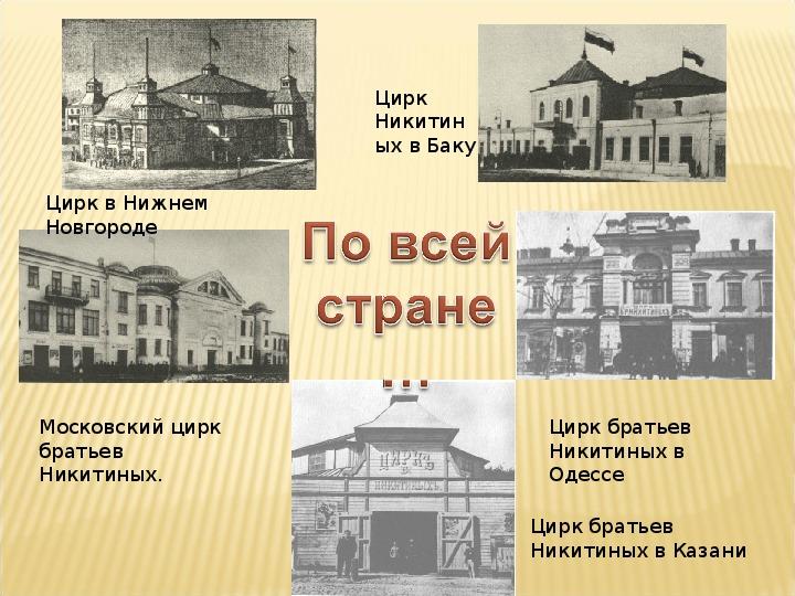 """""""Цирк братьев Никитиных"""""""