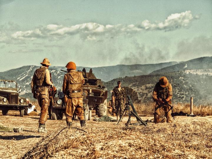 Афганская война.
