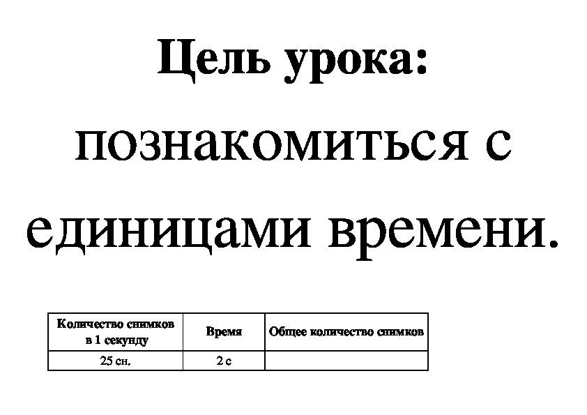 """Конструкт урока математики на тему """"Единицы времени"""" (3 класс, УМК Гармония)"""