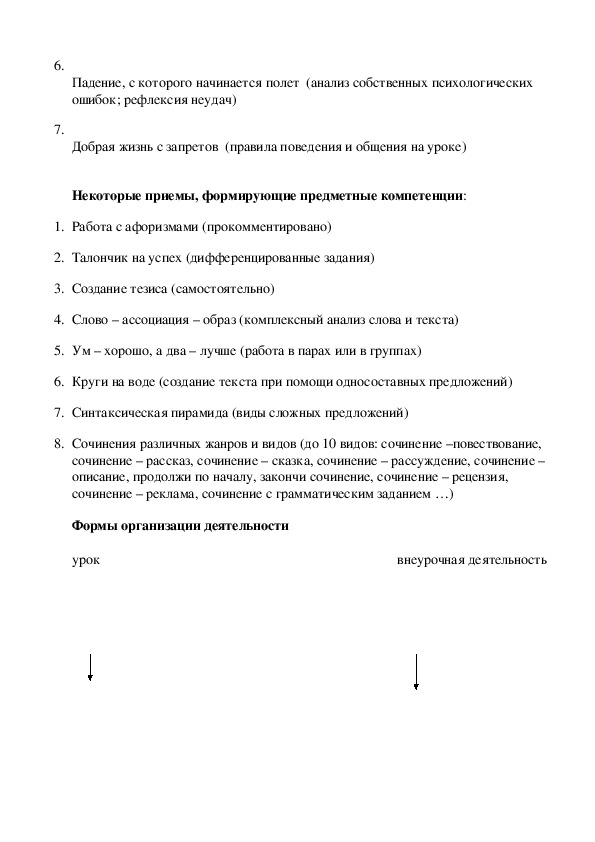 Реализация  компетентностного подхода  в обучении русскому языку.