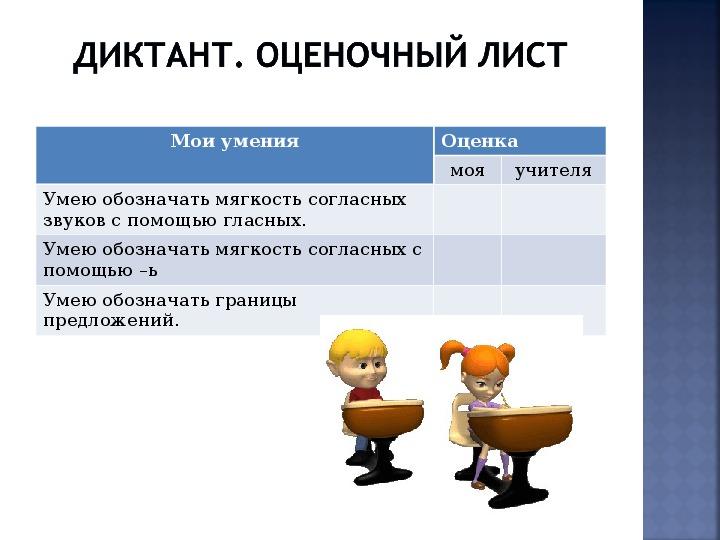 Критериальное оценивание в начальной школе