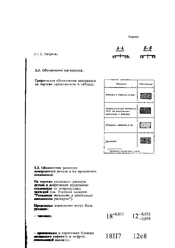 Чтение чертежей и технологической документации