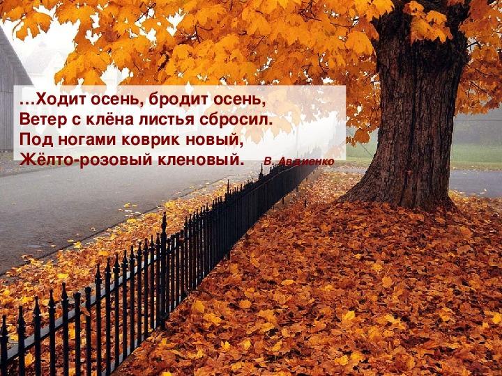 """Сценарий праздника осенней поэзии """"Осенняя пора, очей очарованье ..."""""""