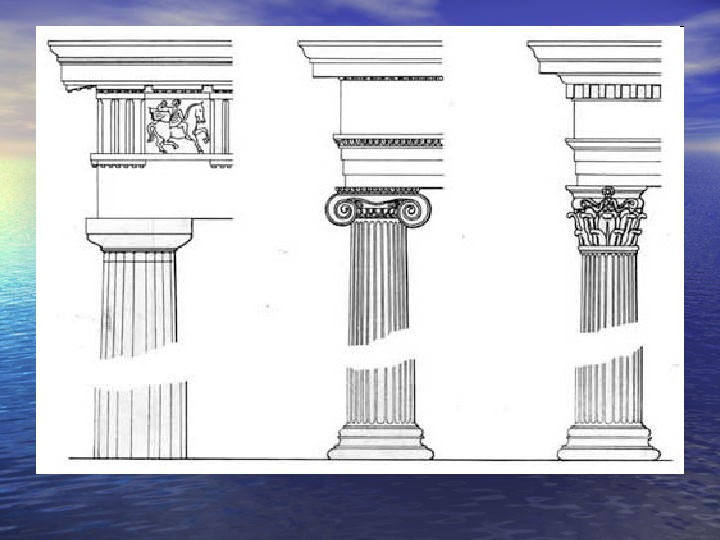 Урок по предмету Беседы об искусстве, тема: Архитектурные ордера (3 театральный класс).