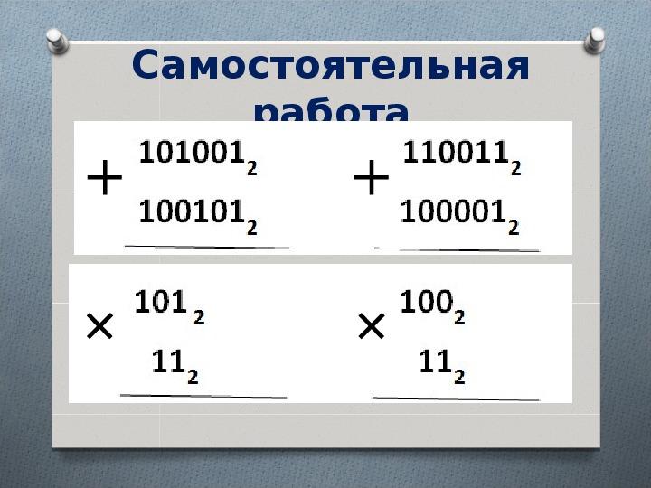 Урок информатики в 9 классе. Тема: «Двоичная система счисления. Подготовка к ОГЭ»