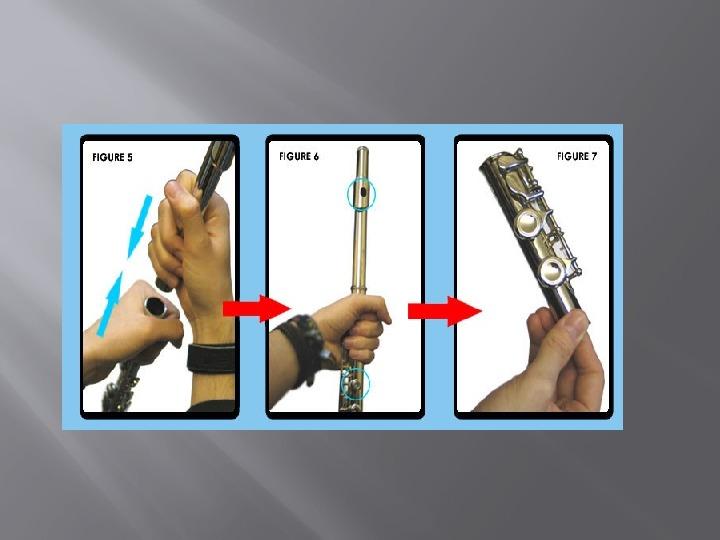 Презентация по музыке. Тема урока:Как правильно собрать флейту (3 класс).
