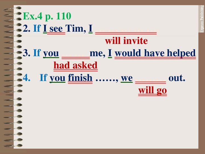 """Схематическое предъявление грамматики """"Условные предложения/ I wish"""", английский язык"""