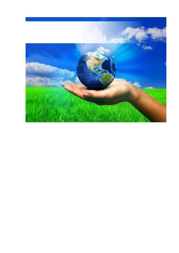"""Окрытое занятие по ознакомлению с окружающим миром """"Праздник планеты Земля"""""""
