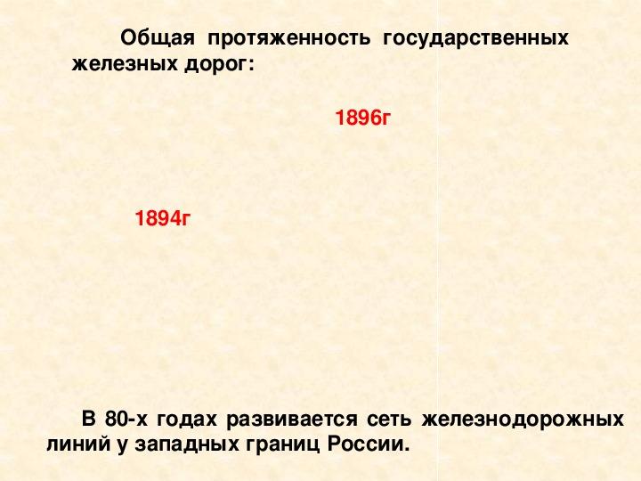 """Презентация """"Экономическое развитие России при Александре III"""" ( 8 класс, история)"""