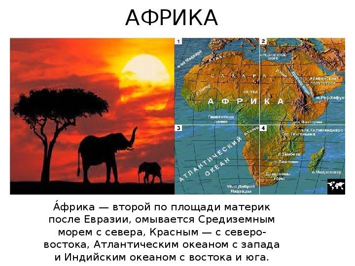 """Презентация на тему """" Африка """""""