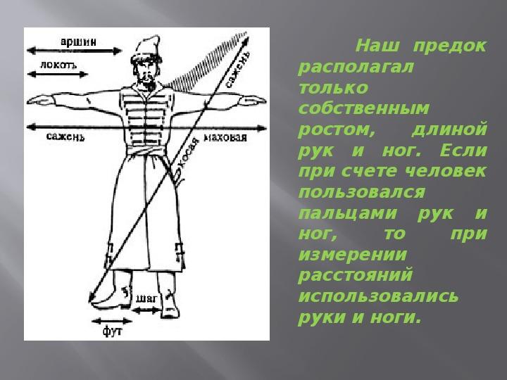"""Презентация об истории единиц измерений """" А в попугаях я гораздо длиннее"""" ( физика 7 класс)"""