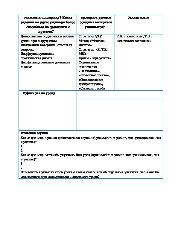 Водород, получение, свойства применение  Практическая работа № 2 « Получение водорода и  изучение его свойств»